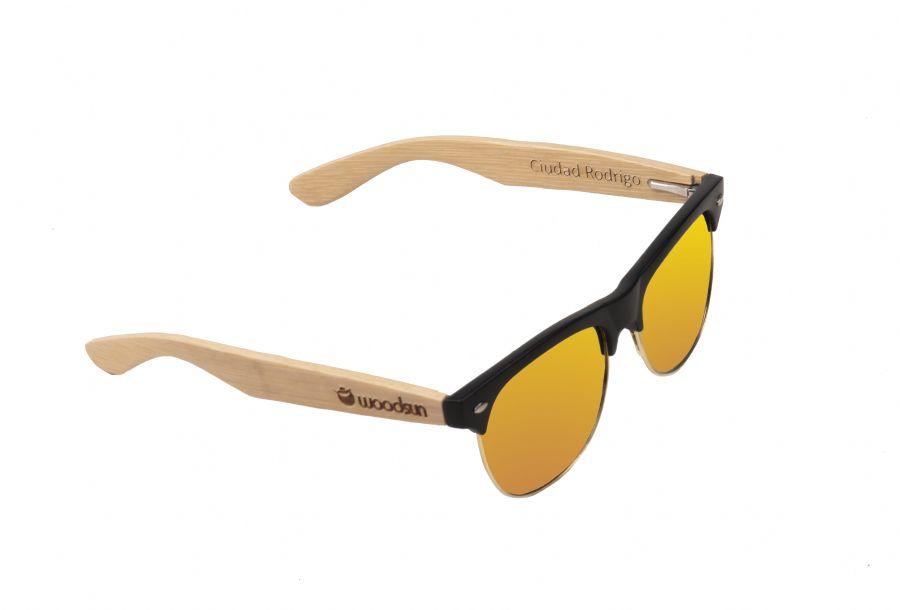aa0cf9dd35 Gafas de sol de madera MIX Natural de Bambú & Orange lens