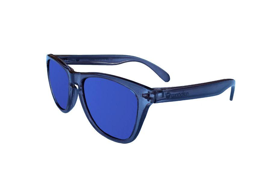 Gafas de sol de montura policarbonato traslucido Grey
