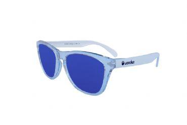 4099da4c1f Gafas de sol de montura policarbonato Trasparente & White - Blue lens
