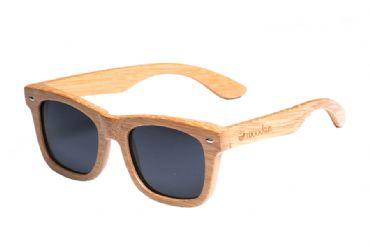 cc22d0ba5f Gafas de sol de madera Natural Carbonized de Bambú & Black lens